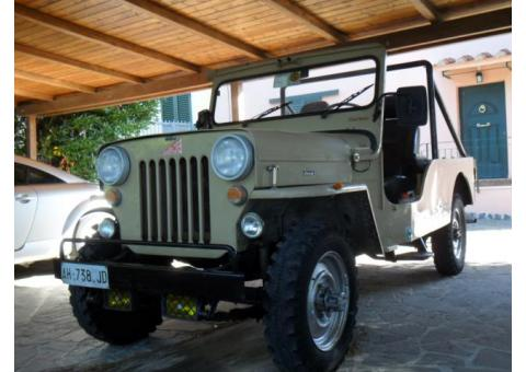 Jeep CJ 6 tipo Willys A.S.I.